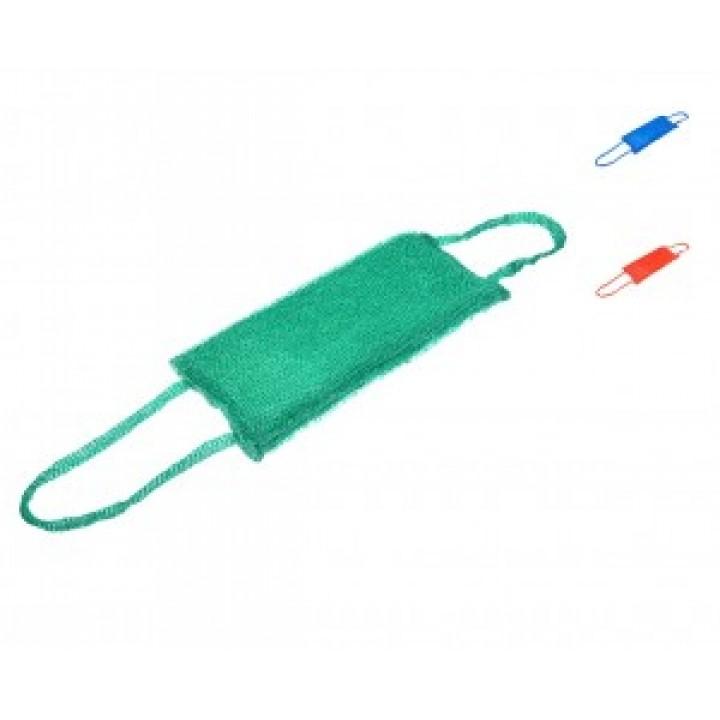 Мочалка полипропилен, лента с ручками 32х14см, 40170 Банные штучки