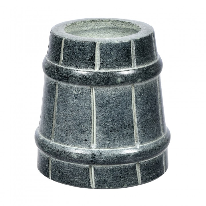 """Испаритель """"ведёрко"""" из камня для бани и сауны"""