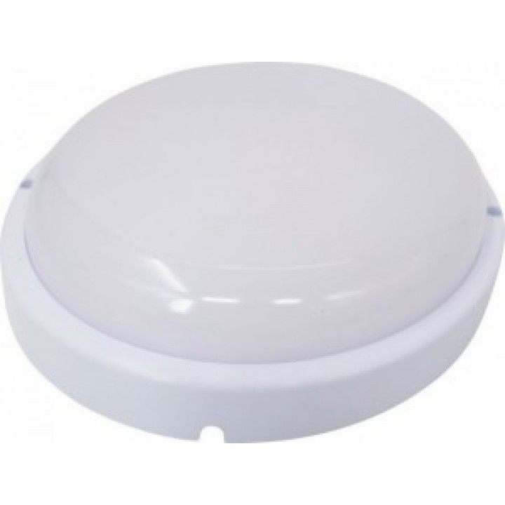 "LEEK светильник светодиодный влагозащ. круг 12W(960lm) 6500K 6K d170x51 пласт.""банник"" НПП IP65 LE LED RBL01WH12W"