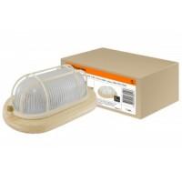 TDM светильник НПБ1402 сосна овал с решоткой 60Вт IP54 (сталь, термостойкое стекло) (8!) SQ0303-0436