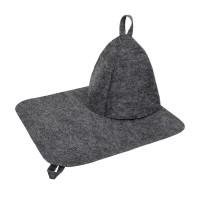 Набор из двух предметов (Шапка, коврик)