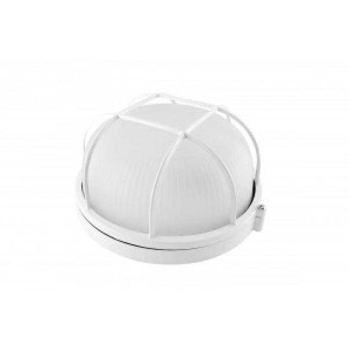 TDM светильник НПБ1302 белый/круг с решоткой 60W IP54 SQ0303-0032