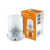 TDM светильник НПБ400 баня/сауна белый 60W IP54 керам. осн/жаропрочн. стекло SQ0303-0048
