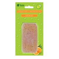 """Соляная плитка с эфирным маслом """"Апельсин"""", 200 г, для бани и сауны"""