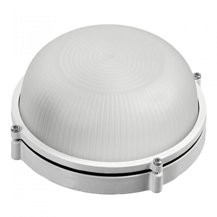 Светильник электрический для бани, металлический, круглый, влагозащищенный, термостойкий