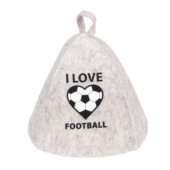 "Шапка ""I love football"""
