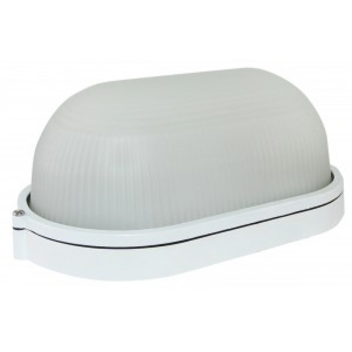 TDM светильник НПБ1201 белый/овал 100W IP54 SQ0303-0028