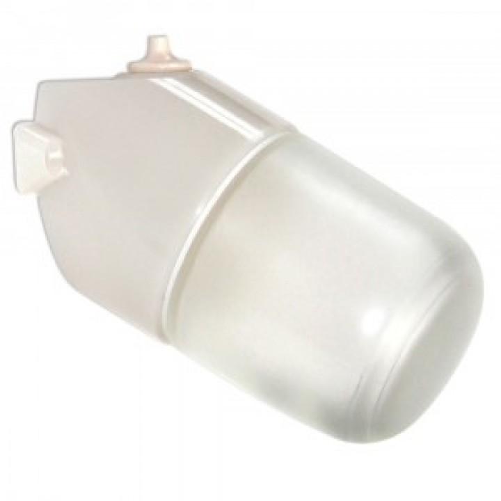 Элетех Линда НПБ400 светильник влагозащ. 60W Е27 баня корпус наклон. термопласт.стекло100°С IP65(РФ) 50070