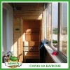Сауна на балконе