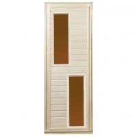 """Дверь со стеклом """"Дуэт"""", липа сорт А"""