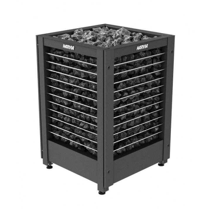 Печь для сауны HARVIA Modulo MD180G black