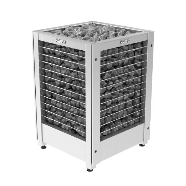 Печь для сауны HARVIA Modulo MDS180G Steel